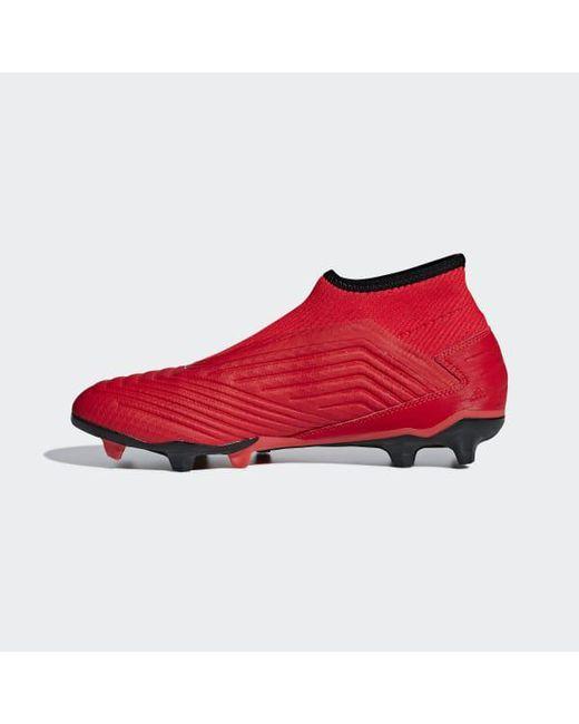 f33d2bb4a855 ... Adidas - Predator 19.3 Laceless Firm Ground Cleats - Lyst ...