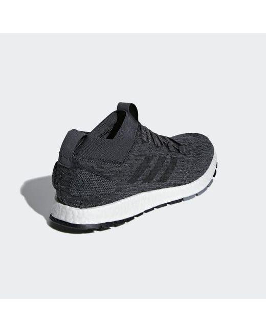 f9df7286e4b6 ... Adidas - Gray Pureboost Rbl Shoes for Men - Lyst ...