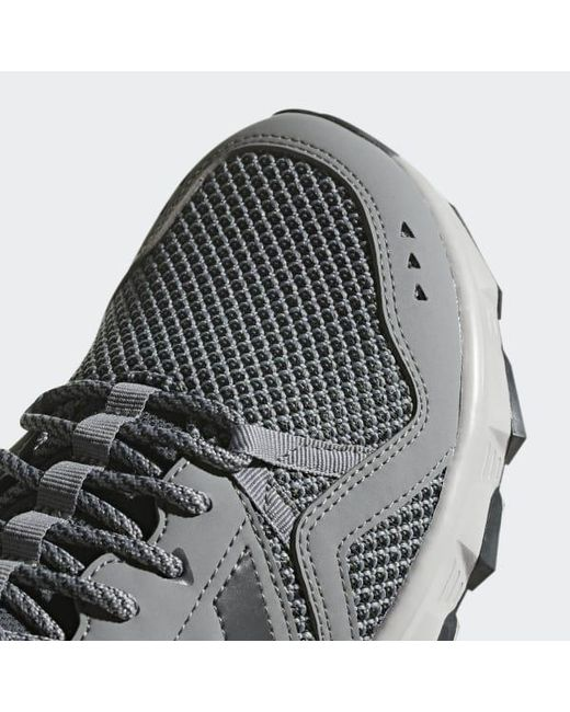 0205b0096 ... Adidas - Gray Rockadia Trail Shoes for Men - Lyst ...