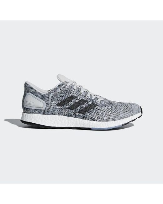 2f822994c Adidas - Gray Pureboost Dpr Shoes for Men - Lyst ...