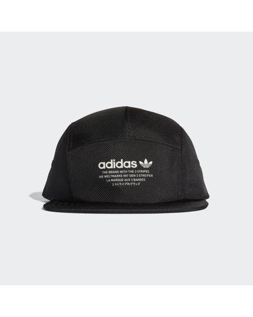 Adidas - Black Nmd Running Cap for Men - Lyst ... buy popular ba166  adidas  Originals ... 5a39c4112