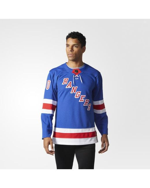 5a54906a7c6 Adidas - Blue Rangers Home Authentic Pro Jersey for Men - Lyst ...