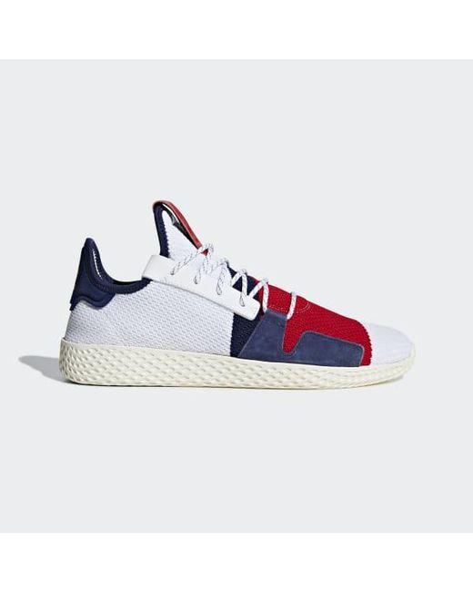 10b1299d3 Adidas - White Pharrell Williams Bbc Hu V2 Shoes for Men - Lyst ...