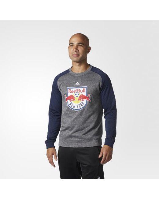 Adidas - Blue New York Red Bulls Ultimate Crew Sweatshirt for Men - Lyst