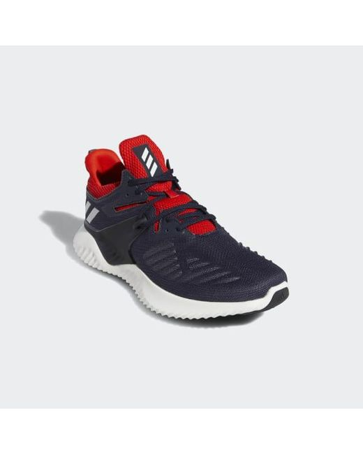 54182aedb ... Adidas - Blue Alphabounce Beyond Shoes for Men - Lyst ...