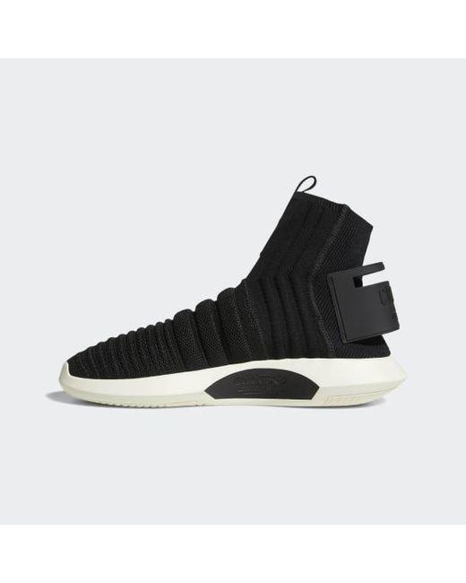 new style 55027 11e48 ... Adidas - Black Crazy 1 Adv Primeknit Sock Shoes for Men - Lyst ...