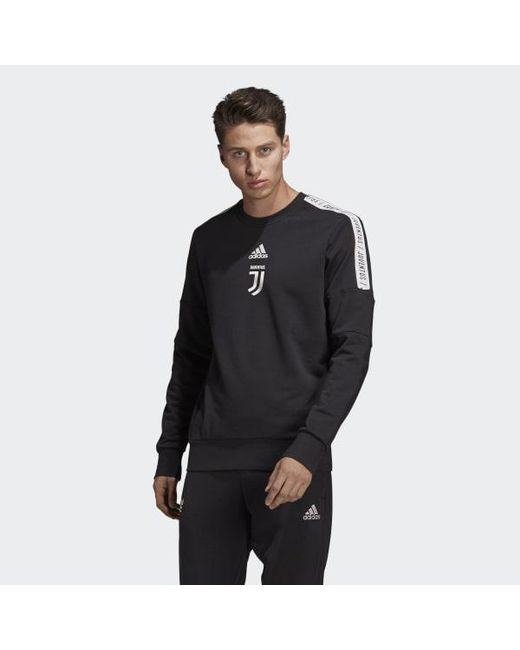 b9d95259a90 Adidas - Black Juventus Seasonal Special Sweatshirt for Men - Lyst ...
