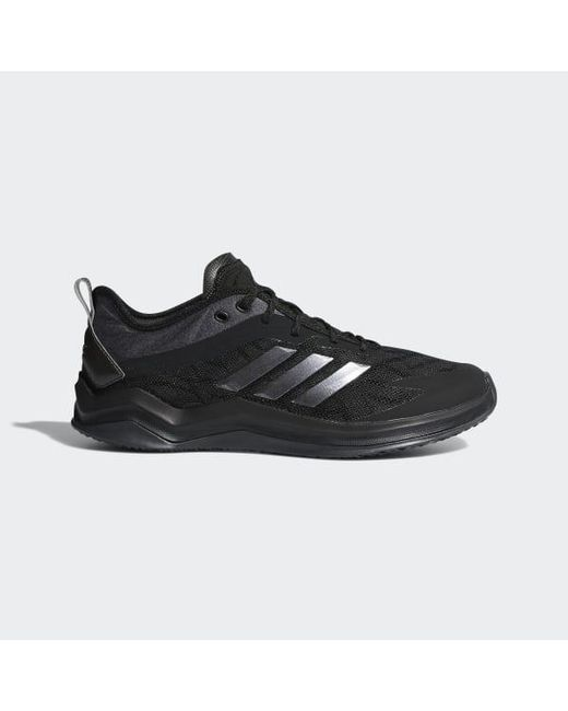 18f2352cc Adidas - Black Speed Trainer 4 Wide Shoes for Men - Lyst ...