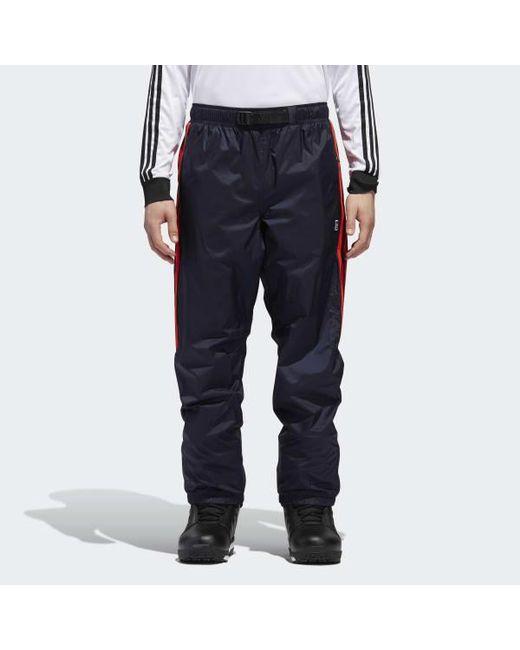 0856511537c Adidas - Blue Slopetrotter Pants for Men - Lyst ...