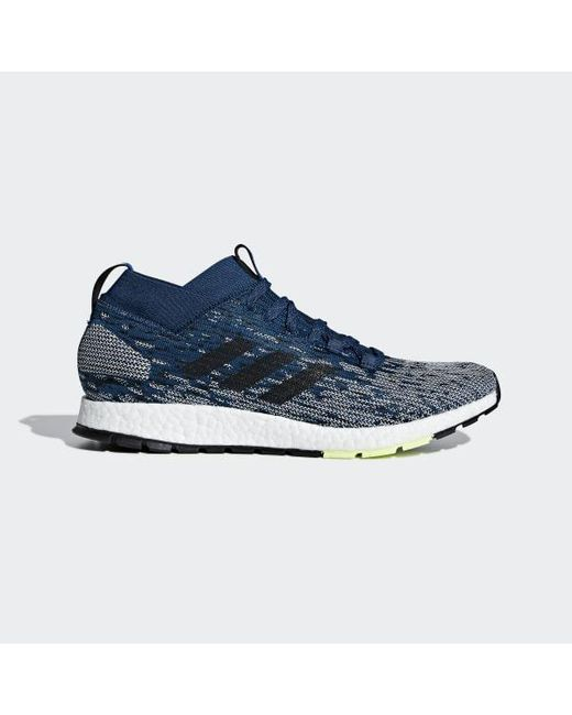1525feffbed0 Adidas - Blue Pureboost Rbl Shoes for Men - Lyst ...