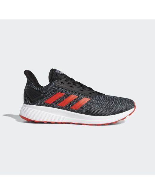 quality design 83bcc 7b46e Adidas - Black Duramo 9 Shoes for Men - Lyst ...