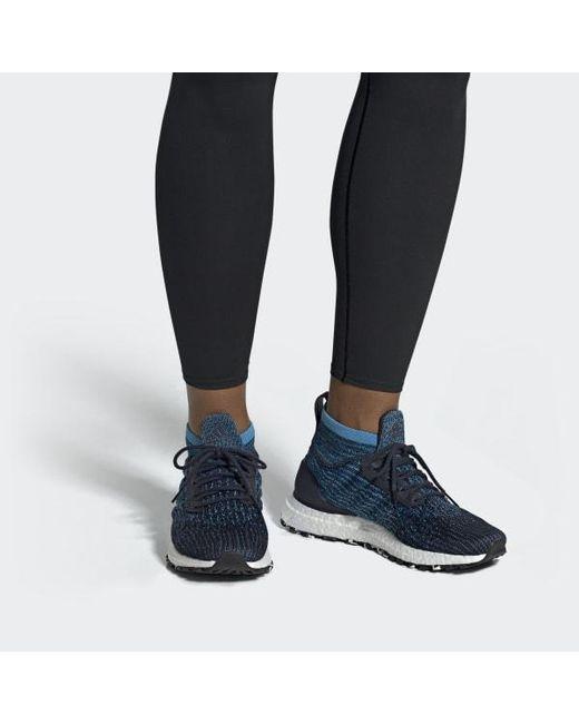 9c880d475 ... Adidas - Blue Ultraboost All Terrain Shoes for Men - Lyst ...