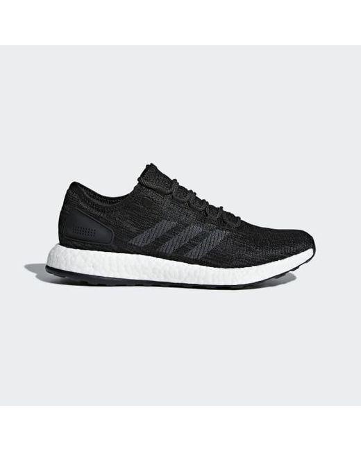 934efef6f782d Adidas - Black Pureboost Shoes for Men - Lyst ...