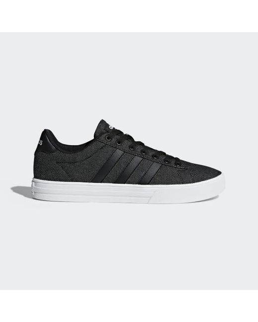 a7b1396d017 Adidas - Black Daily 2.0 Shoes for Men - Lyst ...