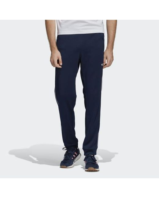 a291b2df0 Adidas - Blue Arena Track Pants for Men - Lyst ...