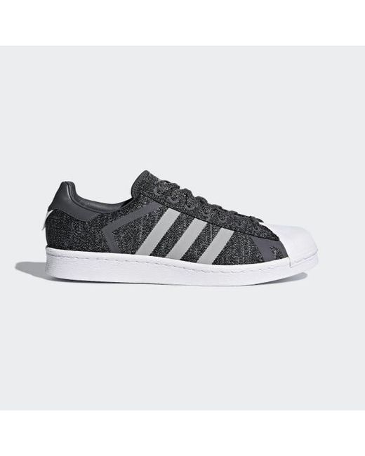 b96ebefd3c6c Adidas - Black Superstar White Mountaineering Shoes for Men - Lyst ...