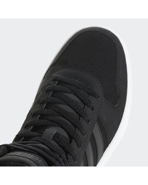 new product 9df60 99d10 ... Adidas - Black Hoops 2.0 Mid Shoes for Men - Lyst ...