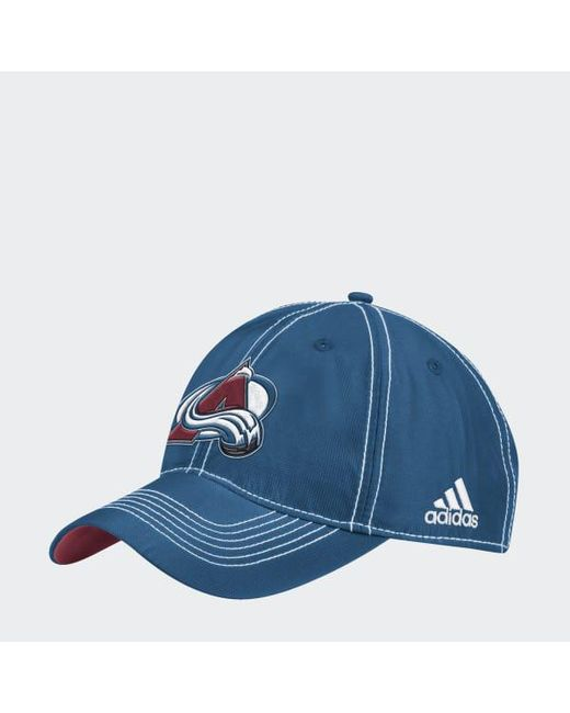 Adidas - Blue Avalanche Adjustable Slouch Dobby Hat for Men - Lyst ... a521af97027e