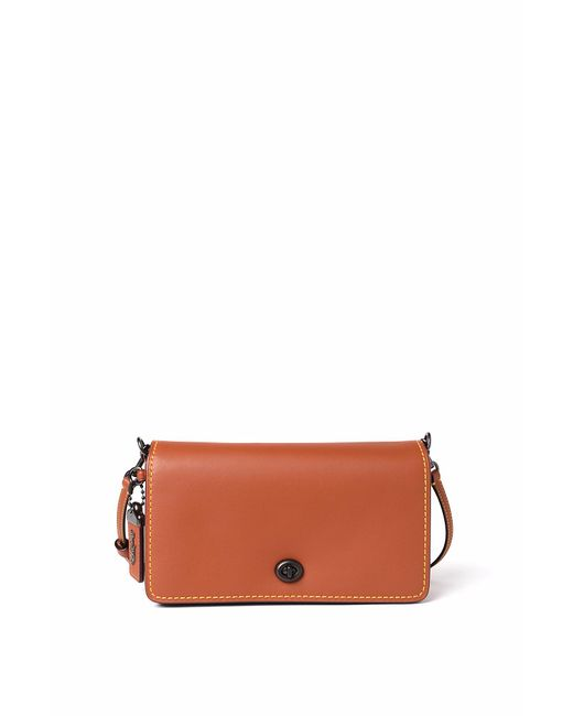 COACH - Multicolor Glovetanned Leather Dinky Crossbody - Lyst