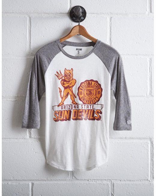 Tailgate - White Women's Arizona State Baseball Shirt - Lyst