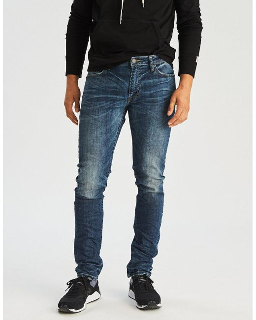 American Eagle - Blue Ae 360 Extreme Flex Slim Jean for Men - Lyst