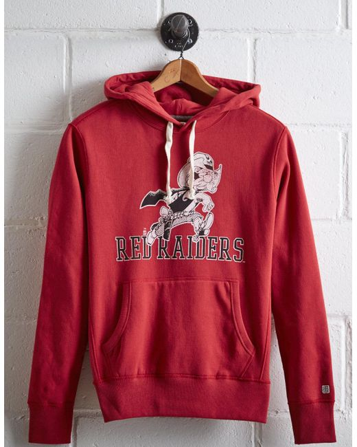 Tailgate - Red Men's Texas Tech Popover Hoodie for Men - Lyst