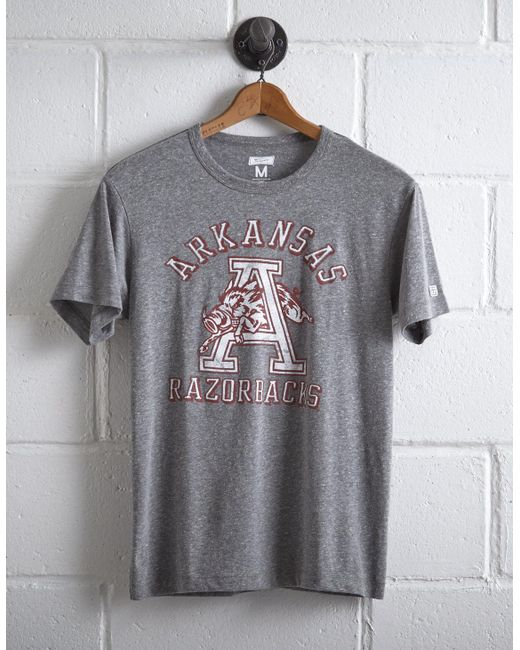 Tailgate - Gray Men's Arkansas Razorbacks T-shirt for Men - Lyst