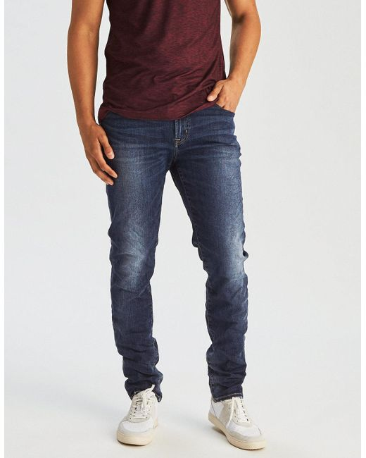 American Eagle - Blue Ae Extreme Flex Slim Jean for Men - Lyst