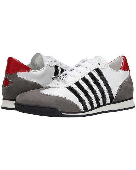 DSquared² | White New Runner Sneaker for Men | Lyst