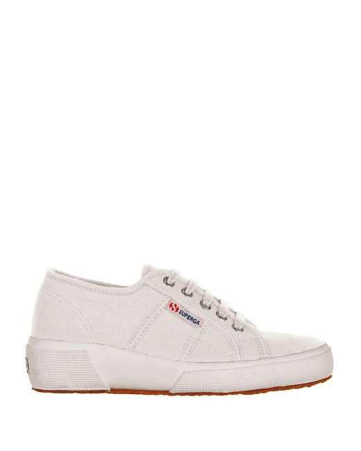 Superga | White Canvas Wedge Sneakers | Lyst