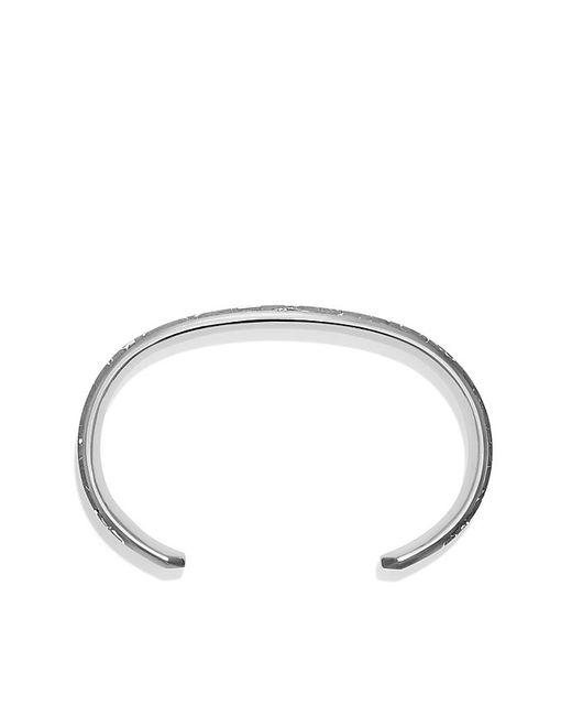 David Yurman | Metallic Fused Meteorite Cuff Bracelet for Men | Lyst