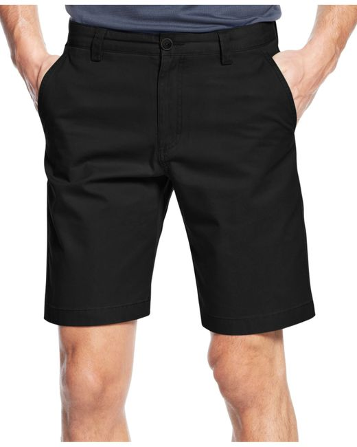 Cutter & Buck | Black Big And Tall Men's Beckett Flat Front Shorts for Men | Lyst
