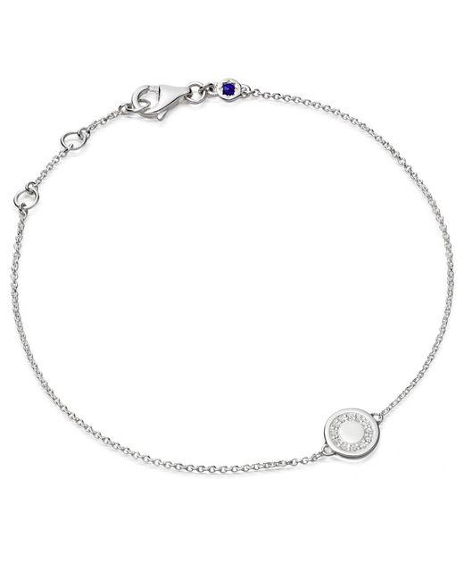 Astley Clarke | Metallic Silhouettes Love Disc Friendship Bracelet | Lyst