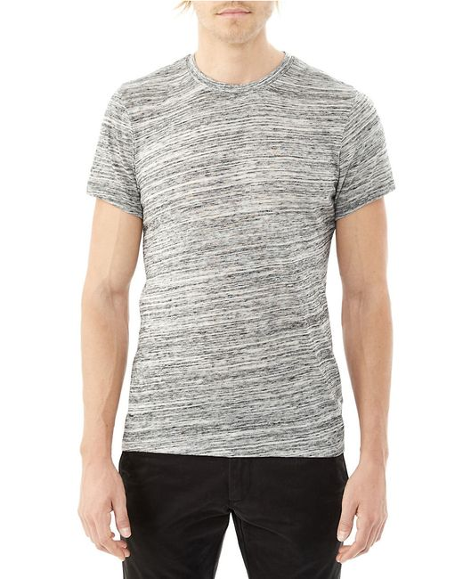 Alternative Apparel | Gray Eco Space Dyed Thermal Frontier Henley for Men | Lyst