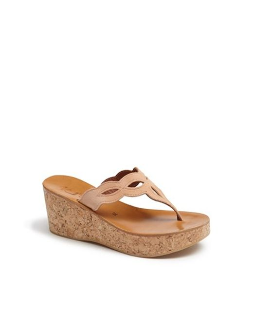K. Jacques   Brown 'zephirine' Sandal   Lyst