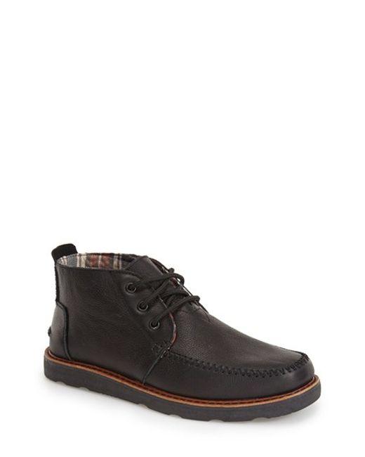 TOMS | Black Chukka Boot for Men | Lyst