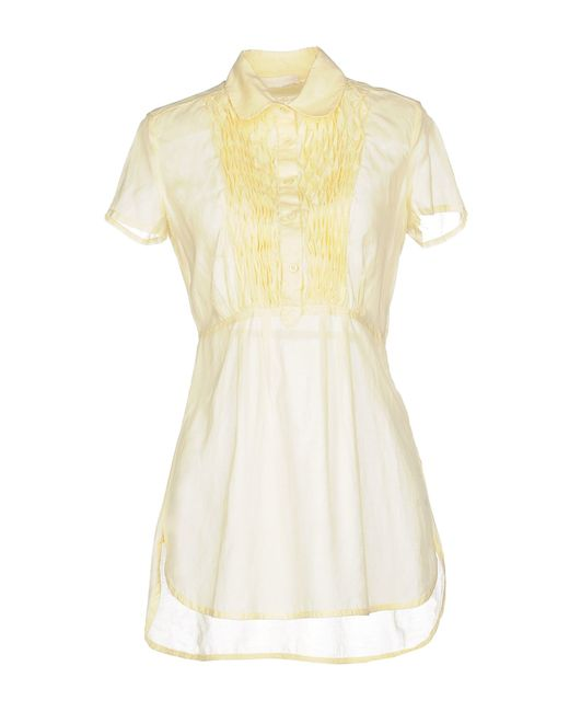 Ermanno Scervino | Yellow Blouse | Lyst