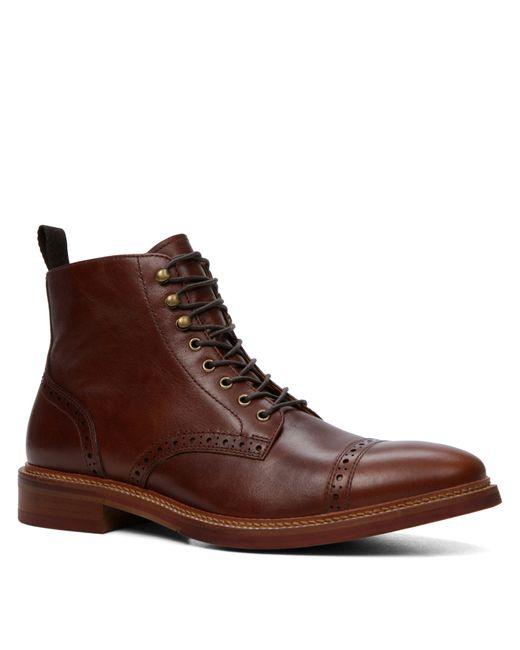 ALDO | Sagona Leather Derby Shoes - Brown for Men | Lyst