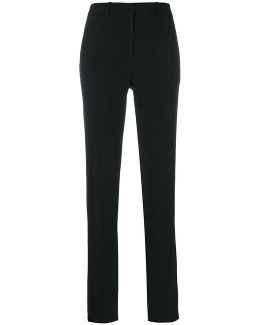 Theory | Black 'hartsdale B' Skinny Trousers | Lyst