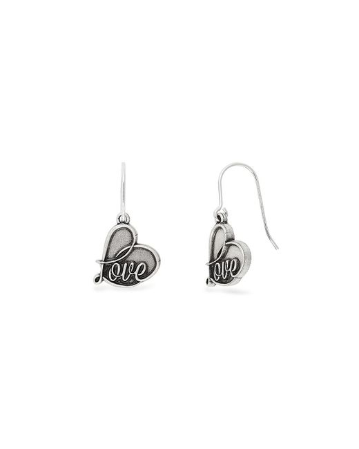 ALEX AND ANI - Metallic Love Hook Earrings - Lyst