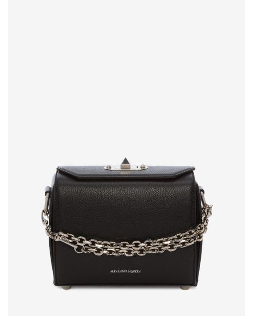 Alexander McQueen - Black 19 Box Bag - Lyst