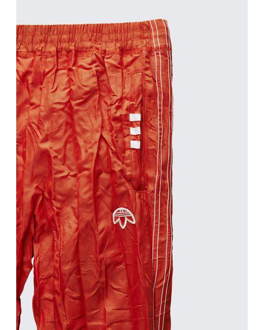 Lyst alexander wang adidas originali da oh adibreak pantaloni arancione