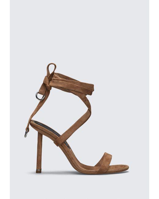 Alexander Wang - Brown Evie High Heel Sandal - Lyst