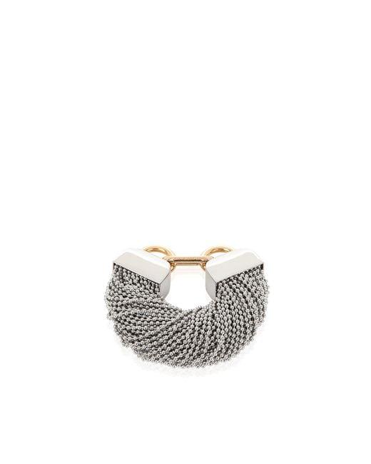Alexander Wang   Metallic Ball Chain Bracelet   Lyst