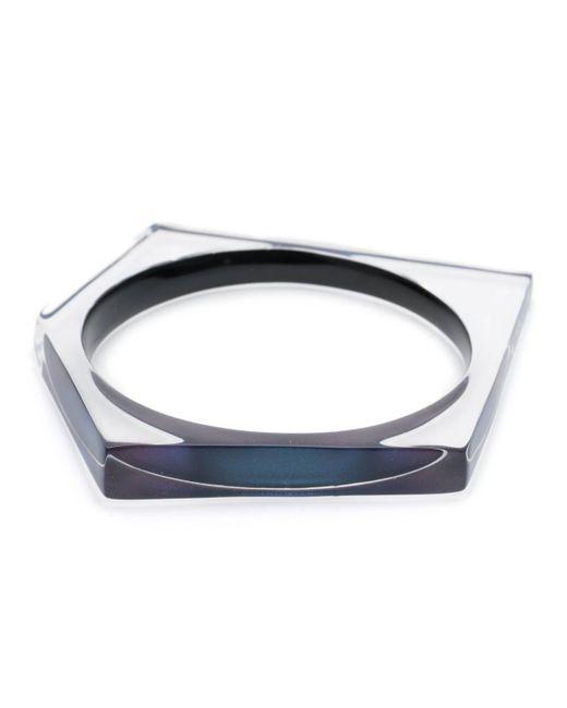 Alexis Bittar | Blue Asymmetrical Pentagon Bangle Bracelet You Might Also Like | Lyst