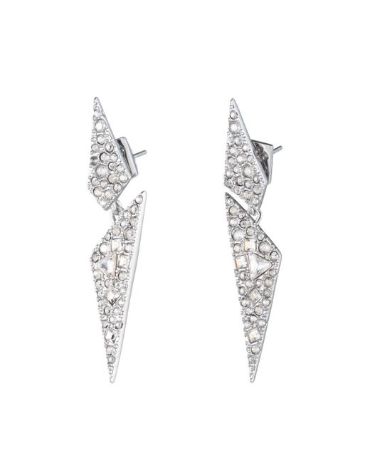Alexis Bittar   Multicolor Crystal Encrusted Dangling Origami Post Earring You Might Also Like   Lyst