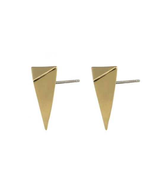 Alexis Bittar | Metallic Gold Pyramid Post Earring You Might Also Like | Lyst