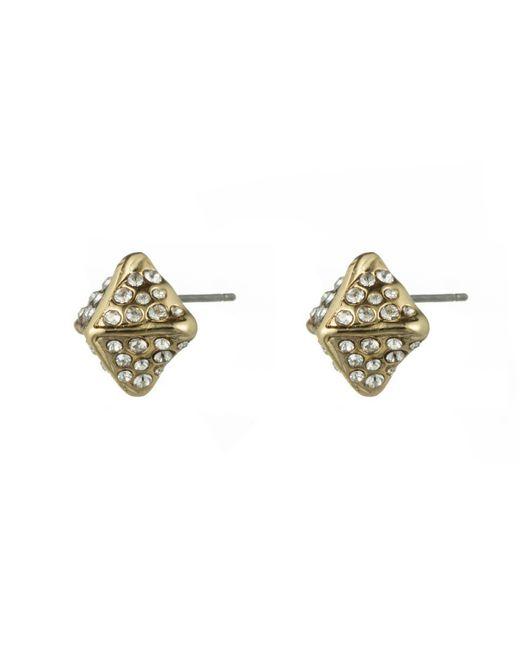 Alexis Bittar | Metallic Crystal Encrusted Pyramid Stud Earring You Might Also Like | Lyst