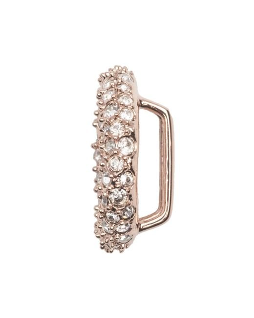 Alexis Bittar - Metallic Rose Gold Tone Pave Ring Slide You Might Also Like - Lyst