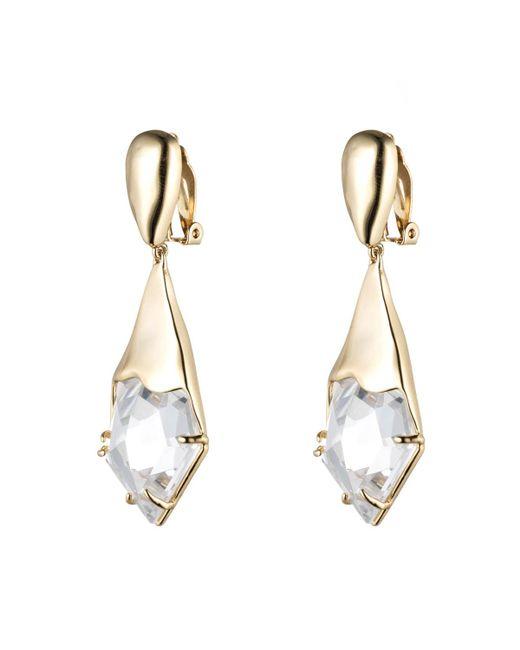 Alexis Bittar | Metallic Gold Liquid Crystal Clip Earring | Lyst